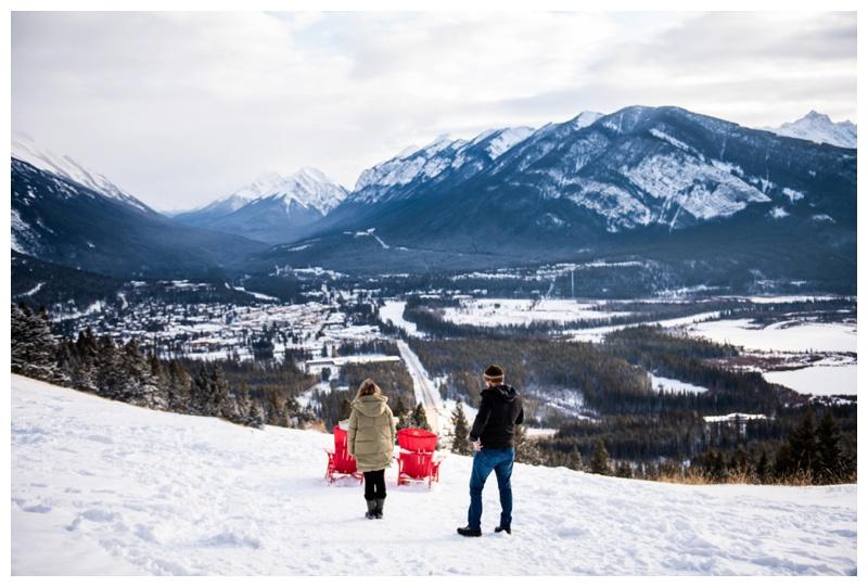 Banff Lookout Winter Proposal