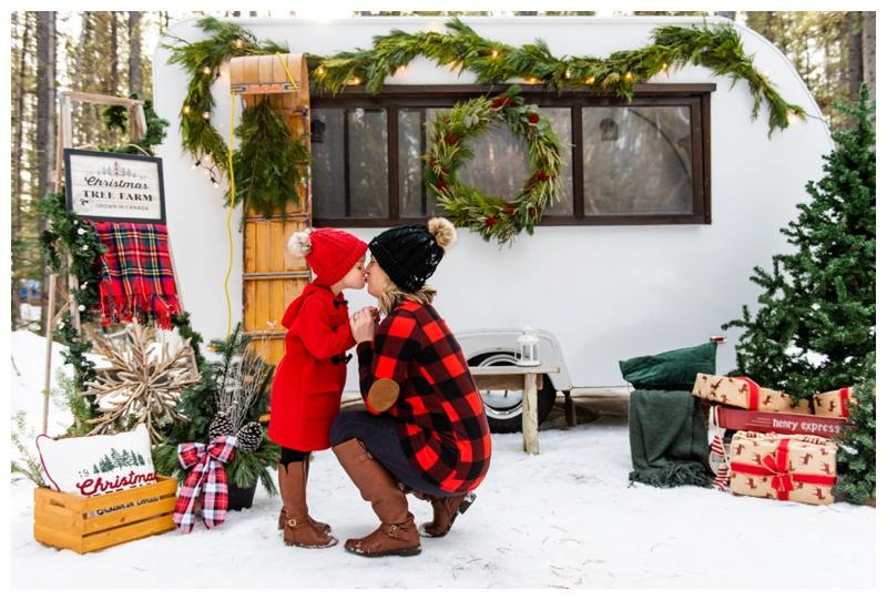 Calgary Holiday Christmas Card Photos