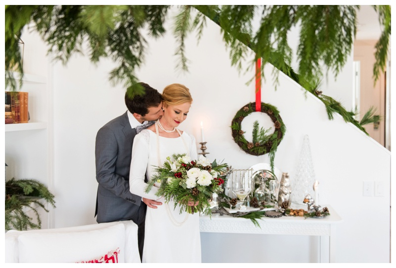 Calgary Scandinavian inspired winter wedding