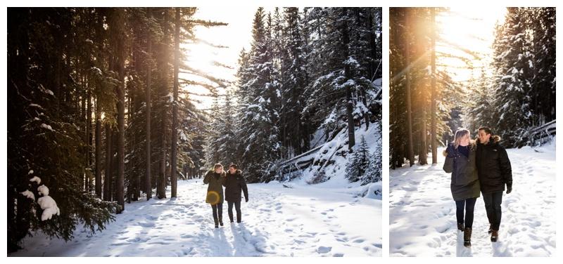 Banff Alberta Engagement Photographers