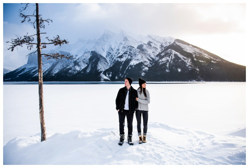 Banff Alberta Proposal Photographer