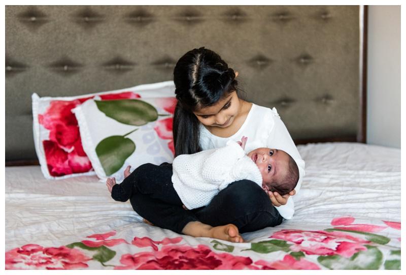 Calgary Winter In Home Newborn Photographer