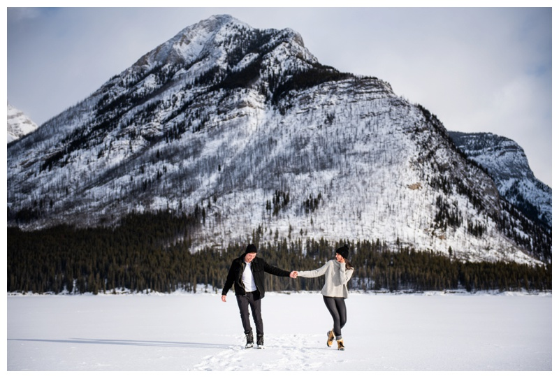 Wedding Proposal Photos Banff Alberta