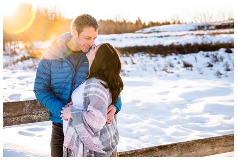 Winter Maternity Photographer Calgary