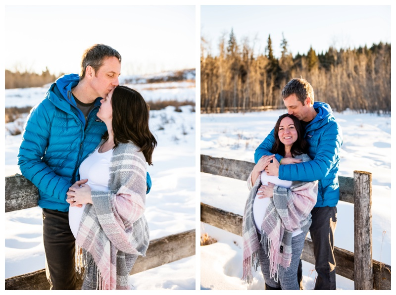 Winter Maternity Photographers Calgary