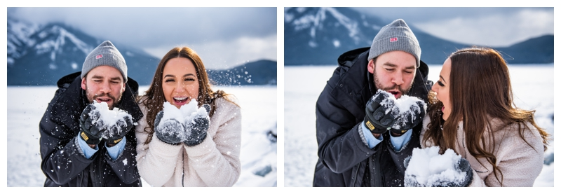 Canmore Wedding Proposal Photographer