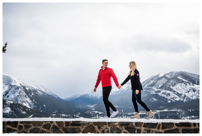 Rocky Mountain Proposal Photographer Banff