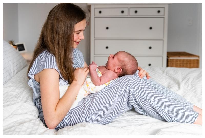 Calgary At Home Family Newborn Photographers