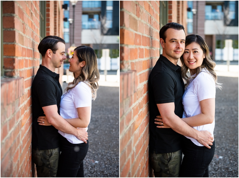 Calgary Downtown Couple Photography