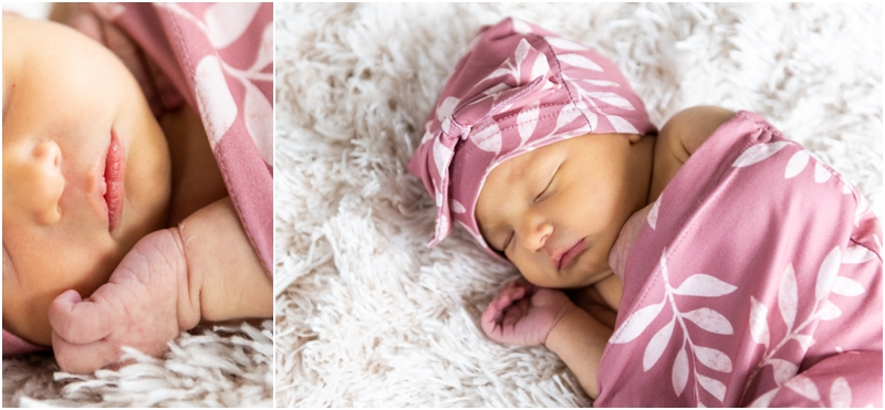 Airdrie In Home Newborn Photos