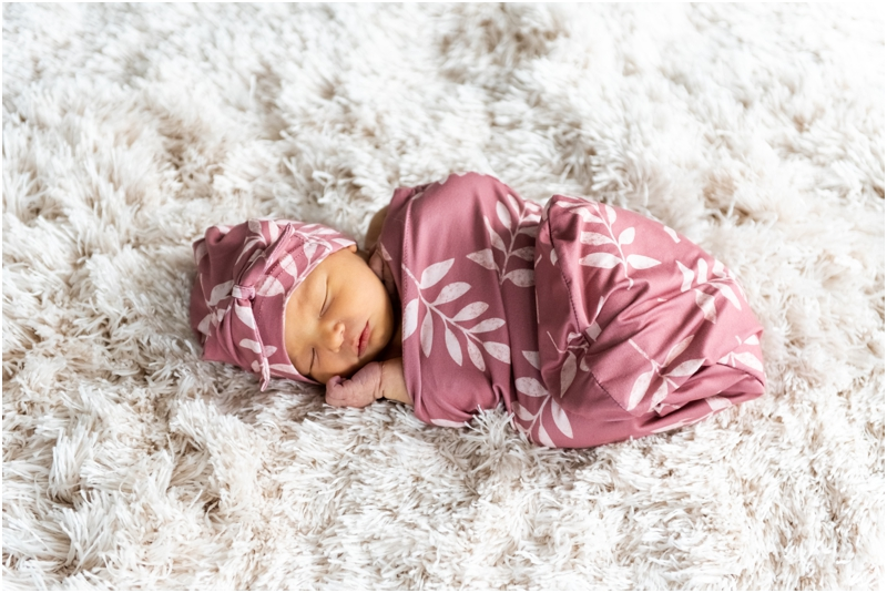 Airdrie In Home Newborn Session