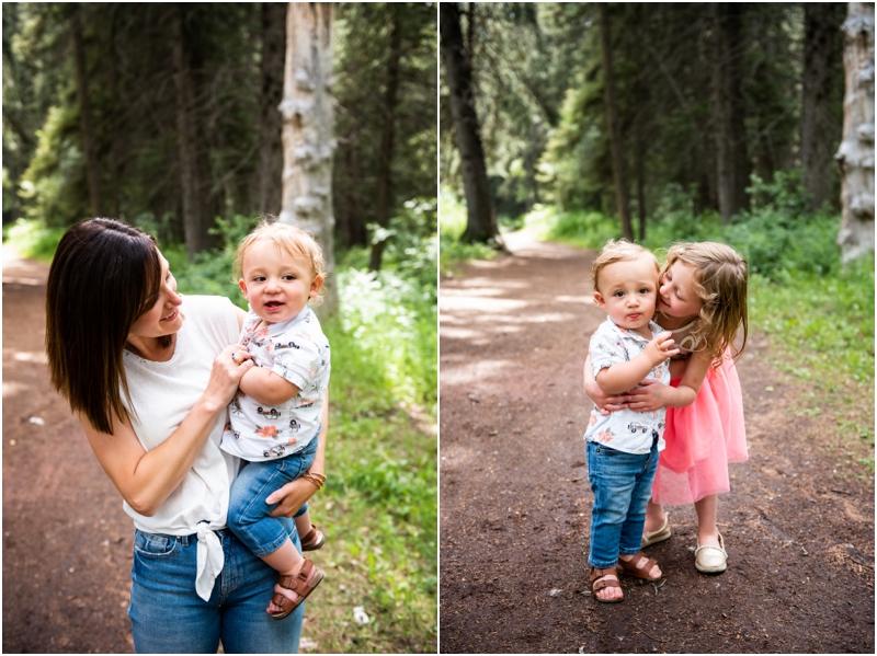Calgary Alberta Summer Family Photographer - Shannon Terrace Fish Creek Park