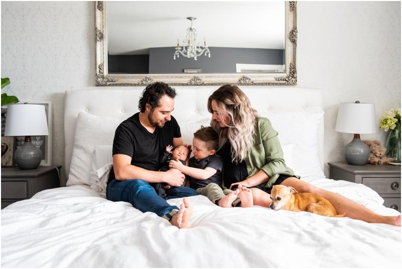 Calgary At Home Lifestyle Newborn Photographer