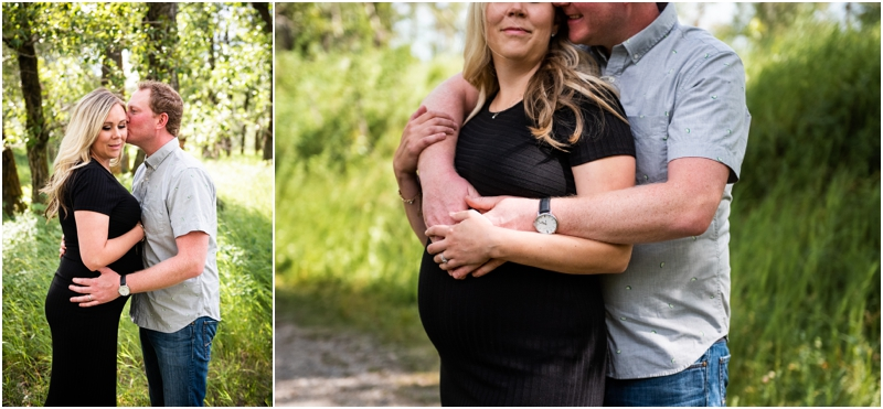 Calgary Hull's Wood Maternity Session