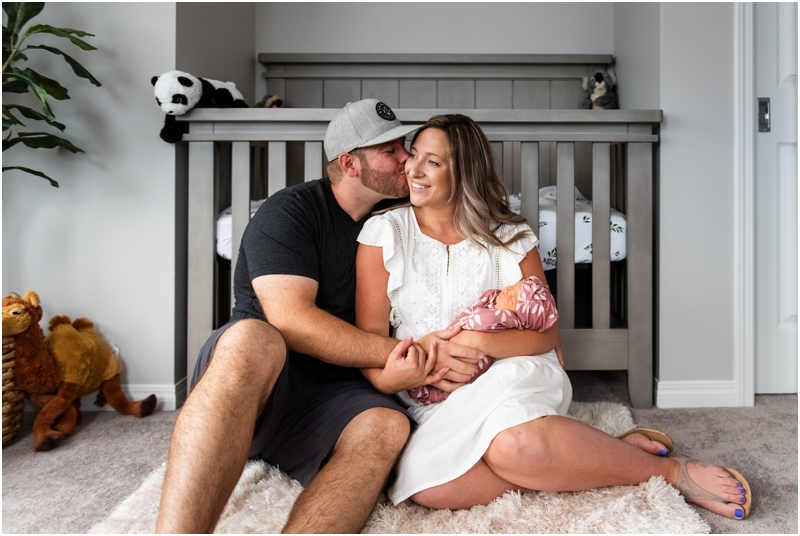 Calgary In Home Newborn Session