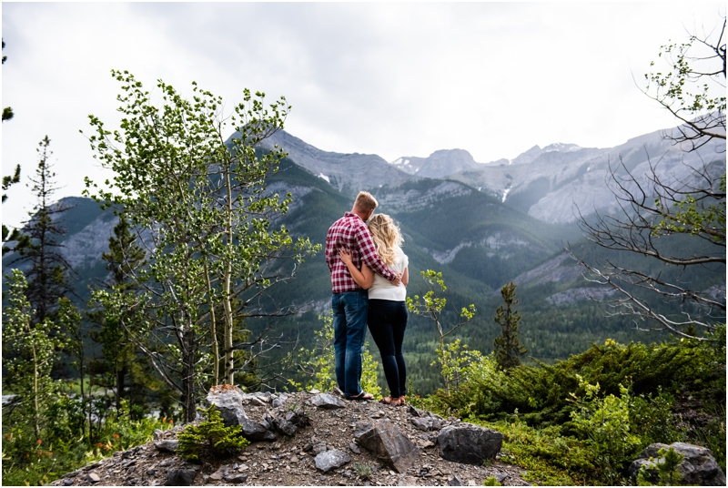 Canmore Alberta Engagement Photos