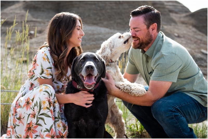 Engagement Photographers Drumheller Badlands