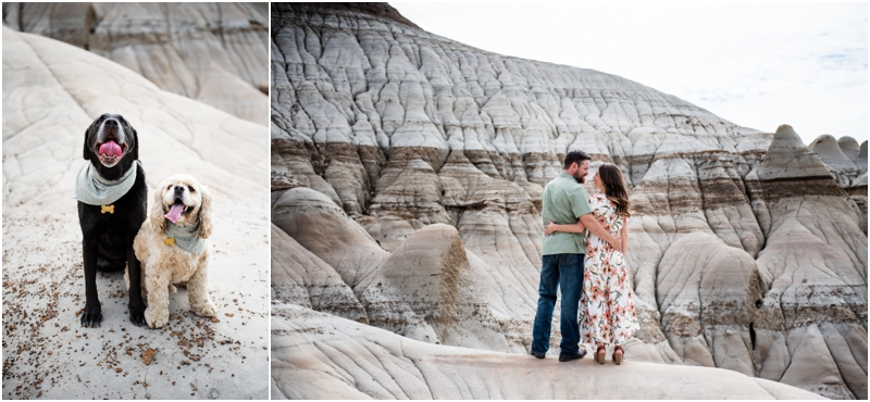 Engagement Photography Drumheller Alberta