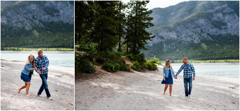 Kananaskis Engagement Photography - Barrier Lake