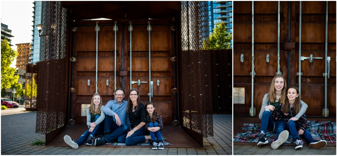 Calgary Downtown Family Session