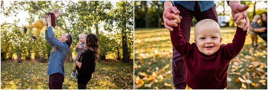 Autumn Happy Camper Photo Session Calgary - Fall Mini Session Photography