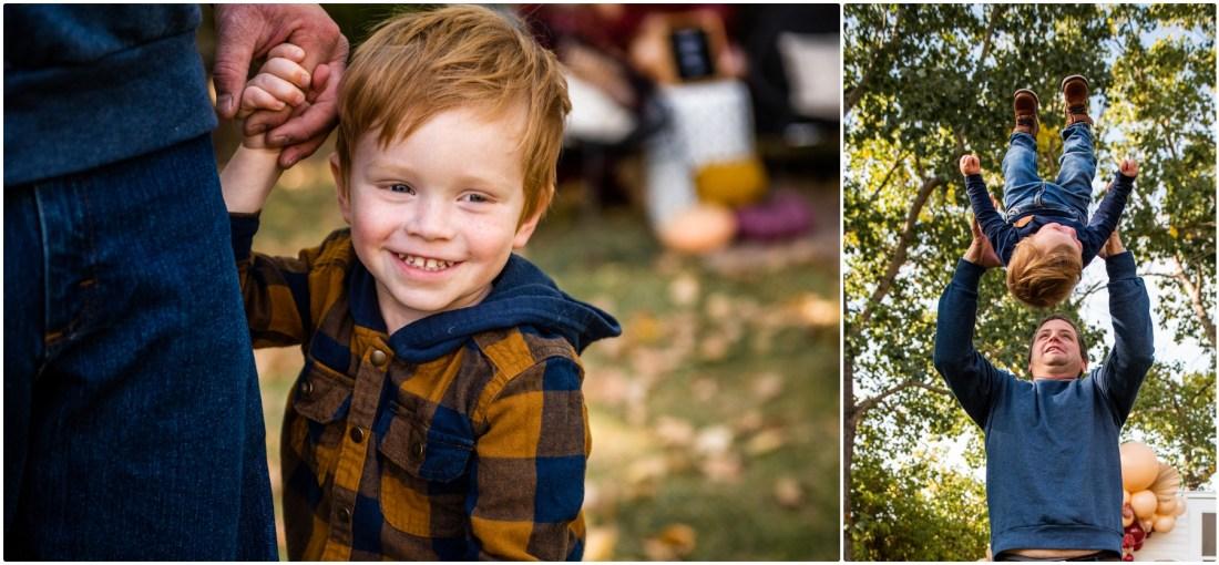 Autumn Happy Camper Photography Session Calgary - Fall Mini Session Photographer