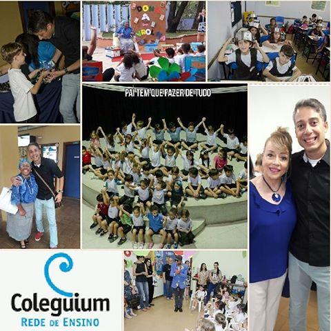 Visita ao Colégio Coleguium