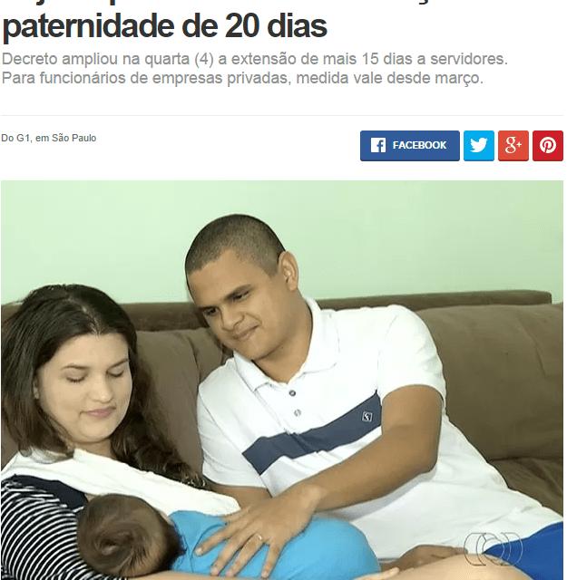 NOVIDADE! Licença-paternidade!!!! SERVIDORES FEDERAIS!