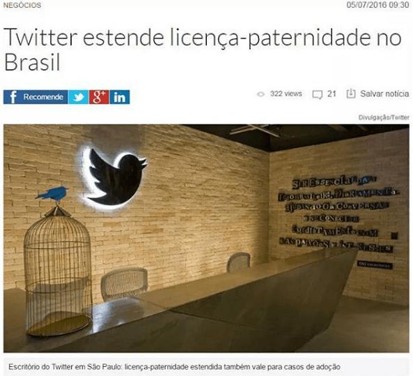 Twitter estende licença-paternidade no Brasil