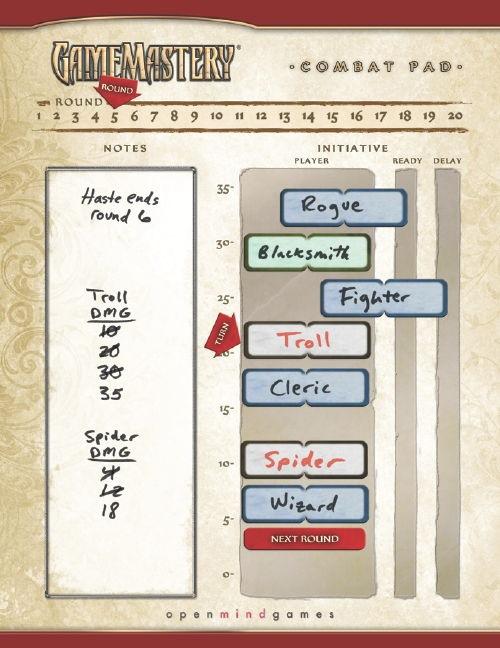 Paizo's Combat Board