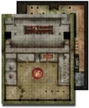 GameMastery Flip-Mat: Monastery