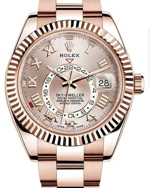 Pajak Rolex (Rolex Sky-Dweller-42mm-Everose Gold-Full-Set-326935) dipajak RM80,000