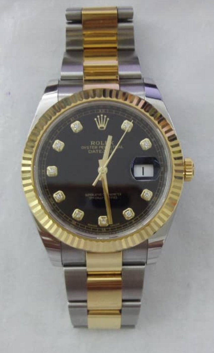 Pajak Rolex Yellow-Gold-Day-Date-118138GRL18K-Box-Card-RM38,000