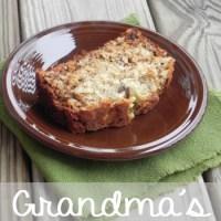 Grandma's Banana Nut Bread