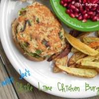 Trader Joe's Chili Lime Chicken Burgers