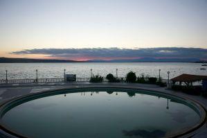 Bakside of our hotel, it feel better now @Croatia