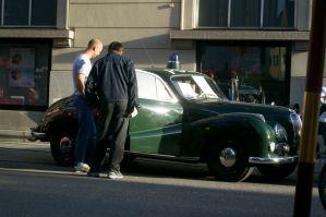 Police car at Rosenheim @ Germany