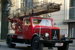 Firetruck at Rosenheim @Germany