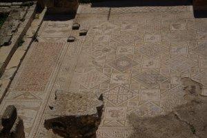 Jerash - mosaic floor
