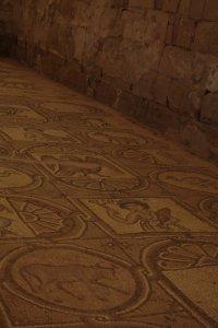 Mosaic floor at Petra