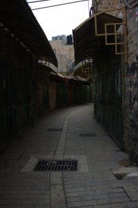 Hebron Palestine side