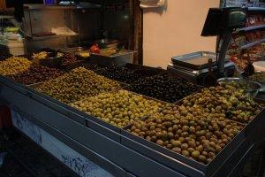 Nice market just outside my hostel in Jerusalem