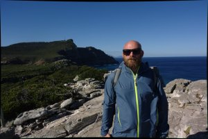 me at Cape of Good Hope