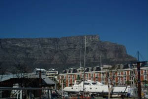Table mountain @Kapstaden