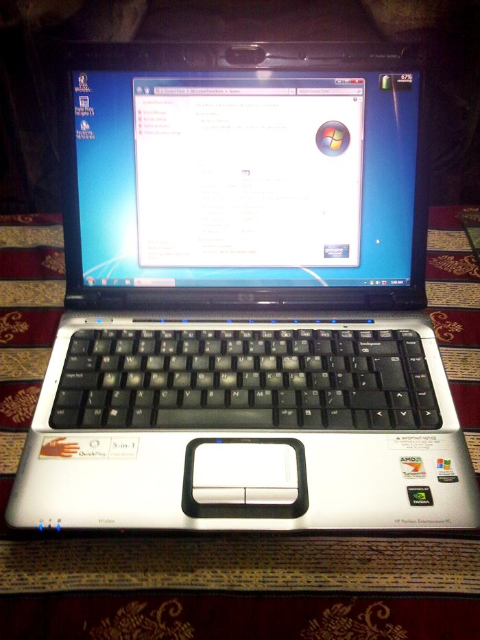 For Sale Hp Pavilion Dv2000 Laptop For Rs 25 000 In