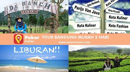 TOUR BANDUNG MURAH 2 HARI PAKARHOLIDAY BANDUNG
