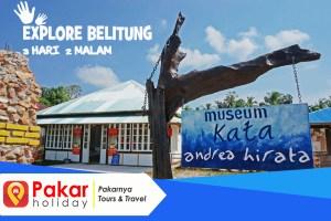 Paket Wisata Bandung-Belitung Murah 4D3N