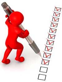 Membuat daftar pekerjaan penting dalam bisnis online