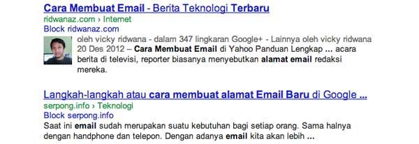 cara membuat alamat email baru