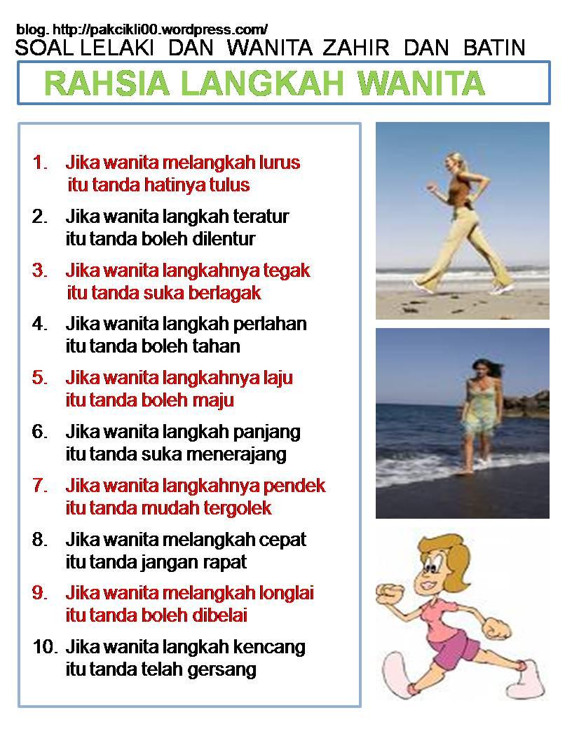 rahsia langkah wanita